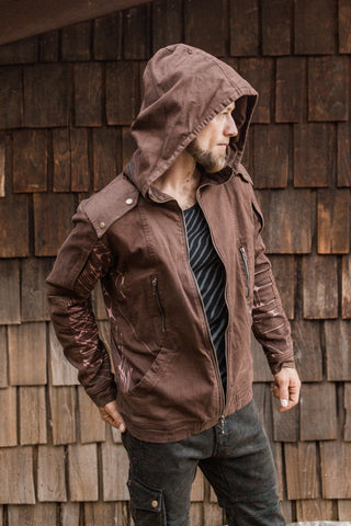 Sigil Jacket- Brown Arrows