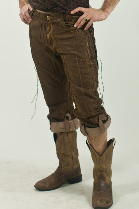 Gaucho Pants - BrownTint Org.