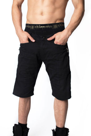 Benders All Black Street Shorts
