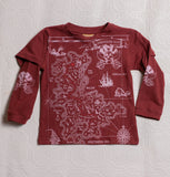 Organic Adventure T's - Red Pirate