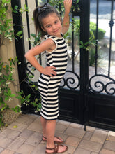 Load image into Gallery viewer, Striped Sleeveless Dress
