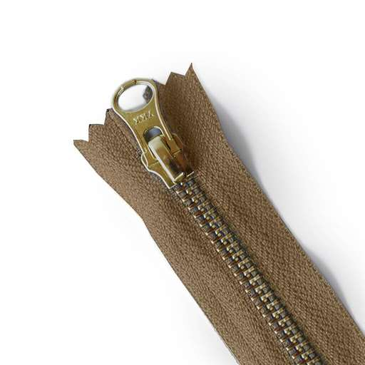 zipper-brown-bronze