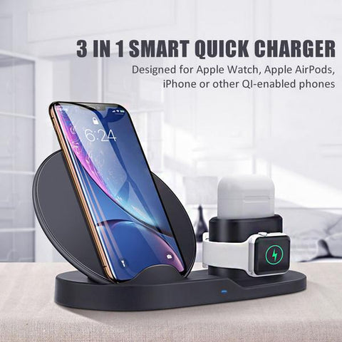3-in-1 Smart Quick Charger - mart-laptop
