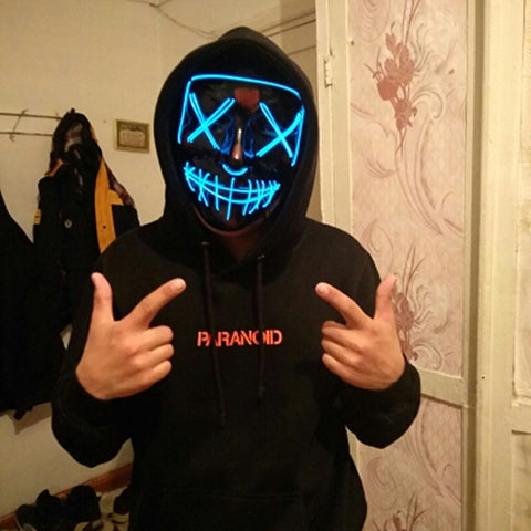 Halloween LED Light Up Masks