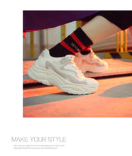 Load image into Gallery viewer, Platform Shoes Lace Up trainers