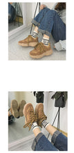 Load image into Gallery viewer, wild thick-soled vintage style shoes