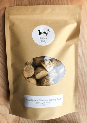 Lazy Bones CBD Dog Treats