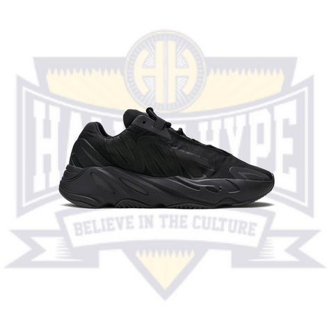 Yeezy 700 MNVN 'Triple Black' - Hall Of Hype