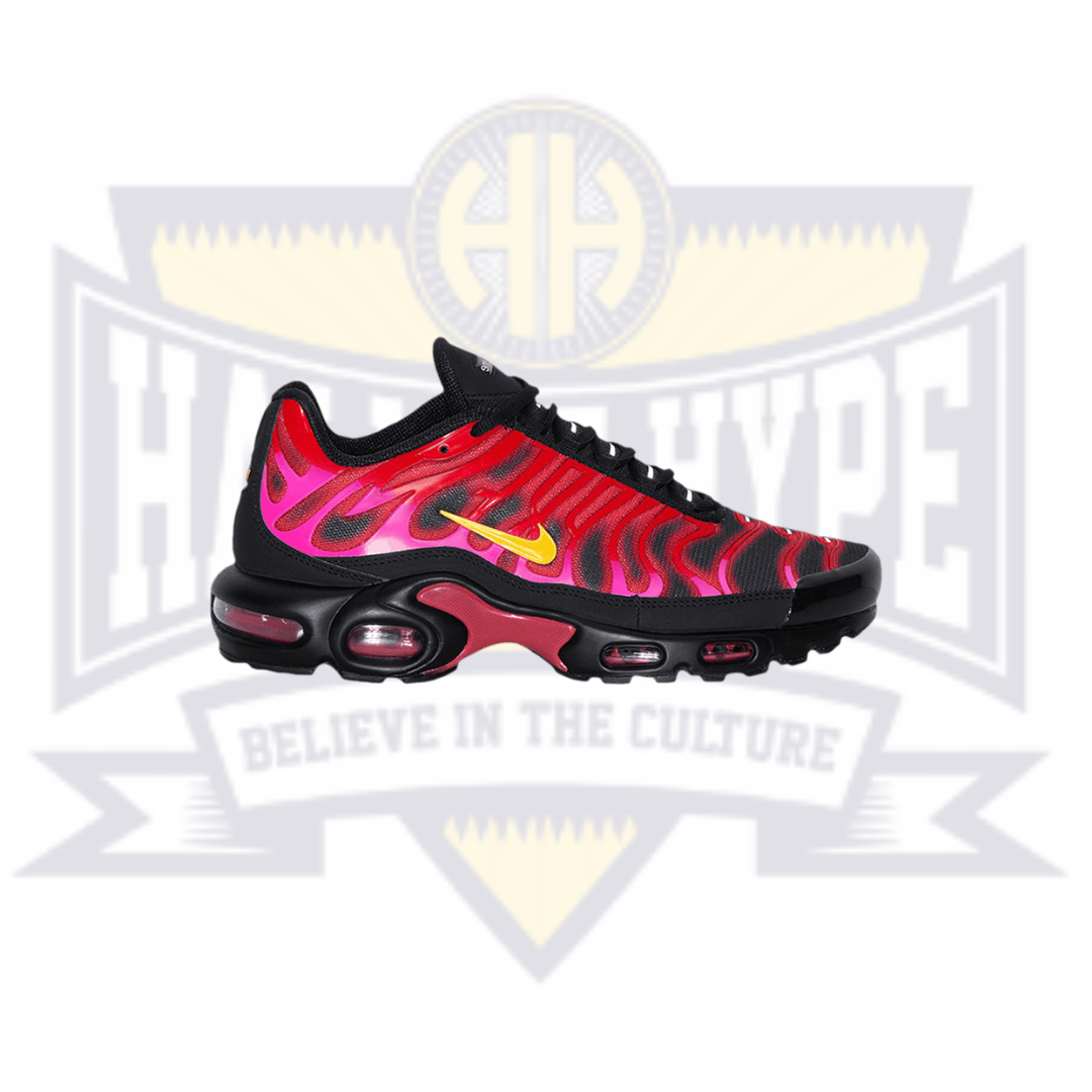 Supreme x Air Max Plus TN 'University Red' - Hall Of Hype