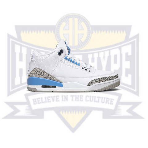 Air Jordan 3 Retro 'UNC' - Hall Of Hype