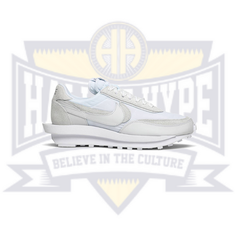 Sacai x LDWaffle 'White Nylon' - Hall Of Hype