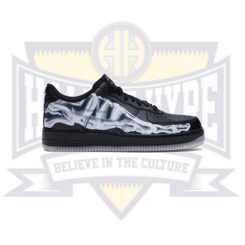 Air Force 1 '07 QS 'Black Skeleton' - Hall Of Hype