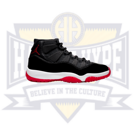Air Jordan 11 Retro 'Bred' 2019 GS - Hall Of Hype