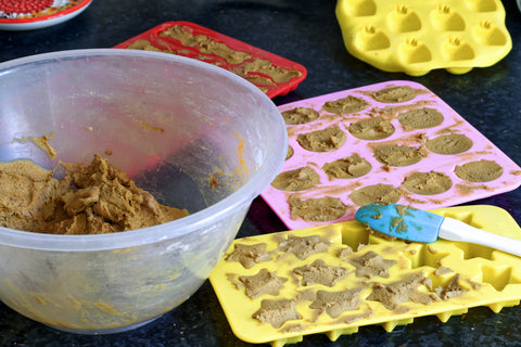 Making dog treats at home