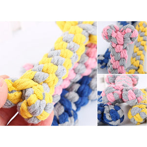 Cotton Rope Molar Chewing Toy