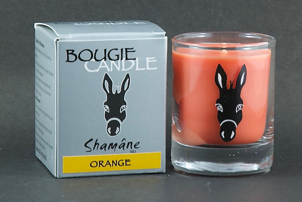 Bougie Shamâne Orange