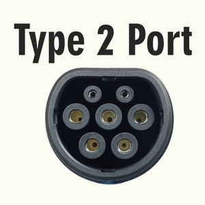 EV and PHEV Type 2 Replacement Tethered Cable 10 meter