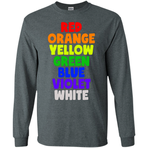 All Colors LGBT Funny Gildan LS Ultra Cotton T-Shirt