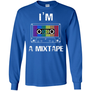Mix Tape Funny LGBT  Gildan LS Ultra Cotton T-Shirt