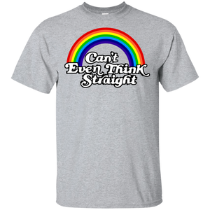 Can't Even Think Straight Funny Gildan Ultra Cotton T-Shirt