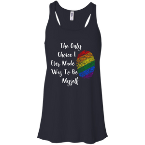 The Only Choice LGBT Bella + Canvas Flowy Racerback Tank