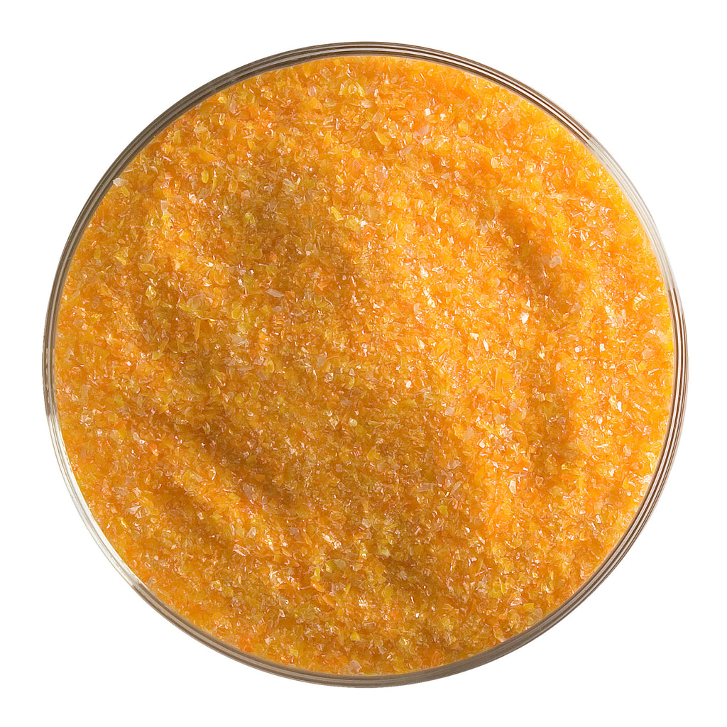 BE - 0025 Tangerine Orange Opal Frit