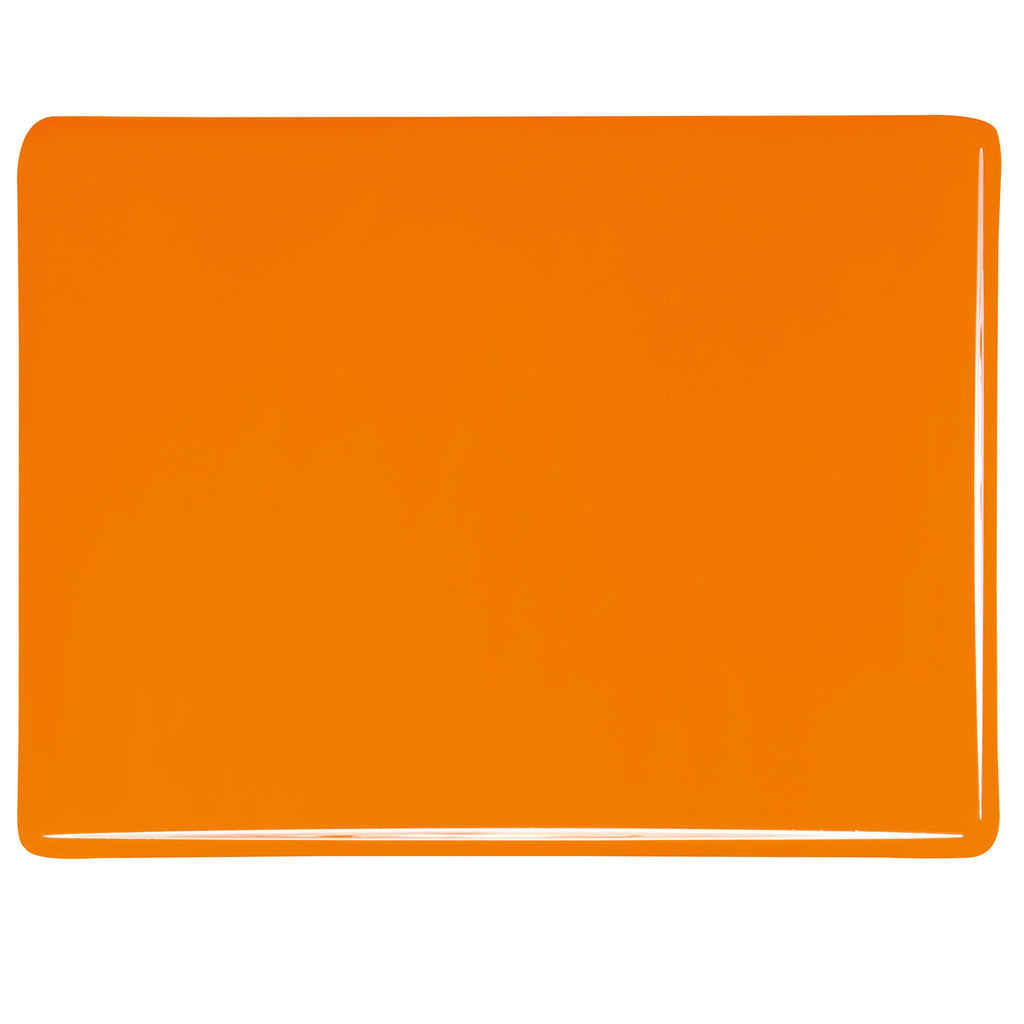 BE - 0025 Tangerine Orange Opal Sheet