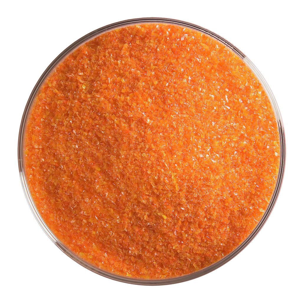 BE - 0125 Orange Opal Frit