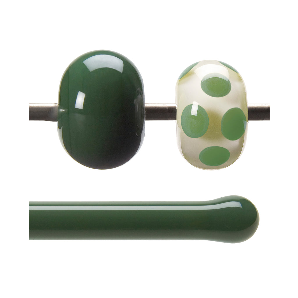 BE - 0141 Dk Forest Green Opal Rod
