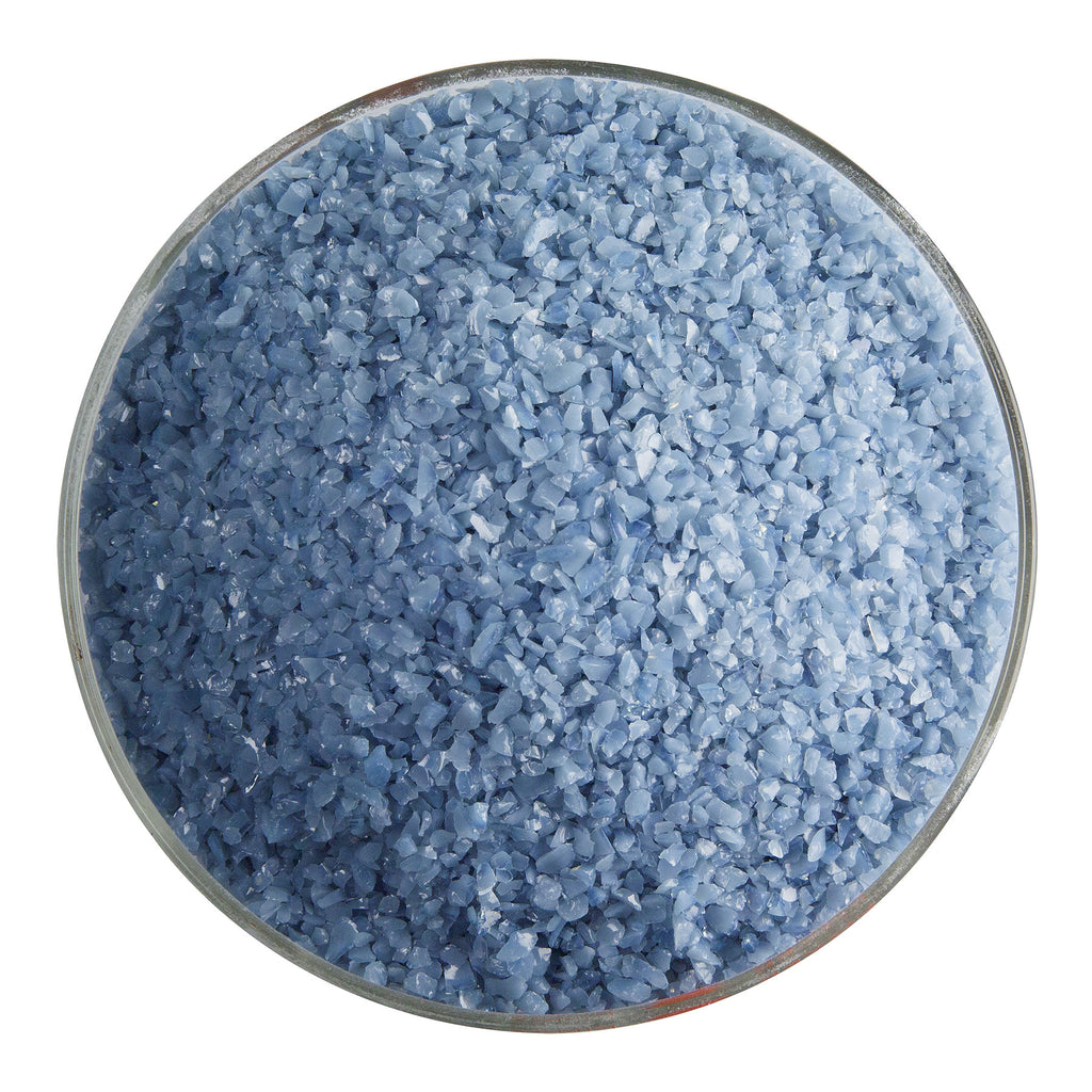 BE - 0208 Dusty Blue Opal Frit