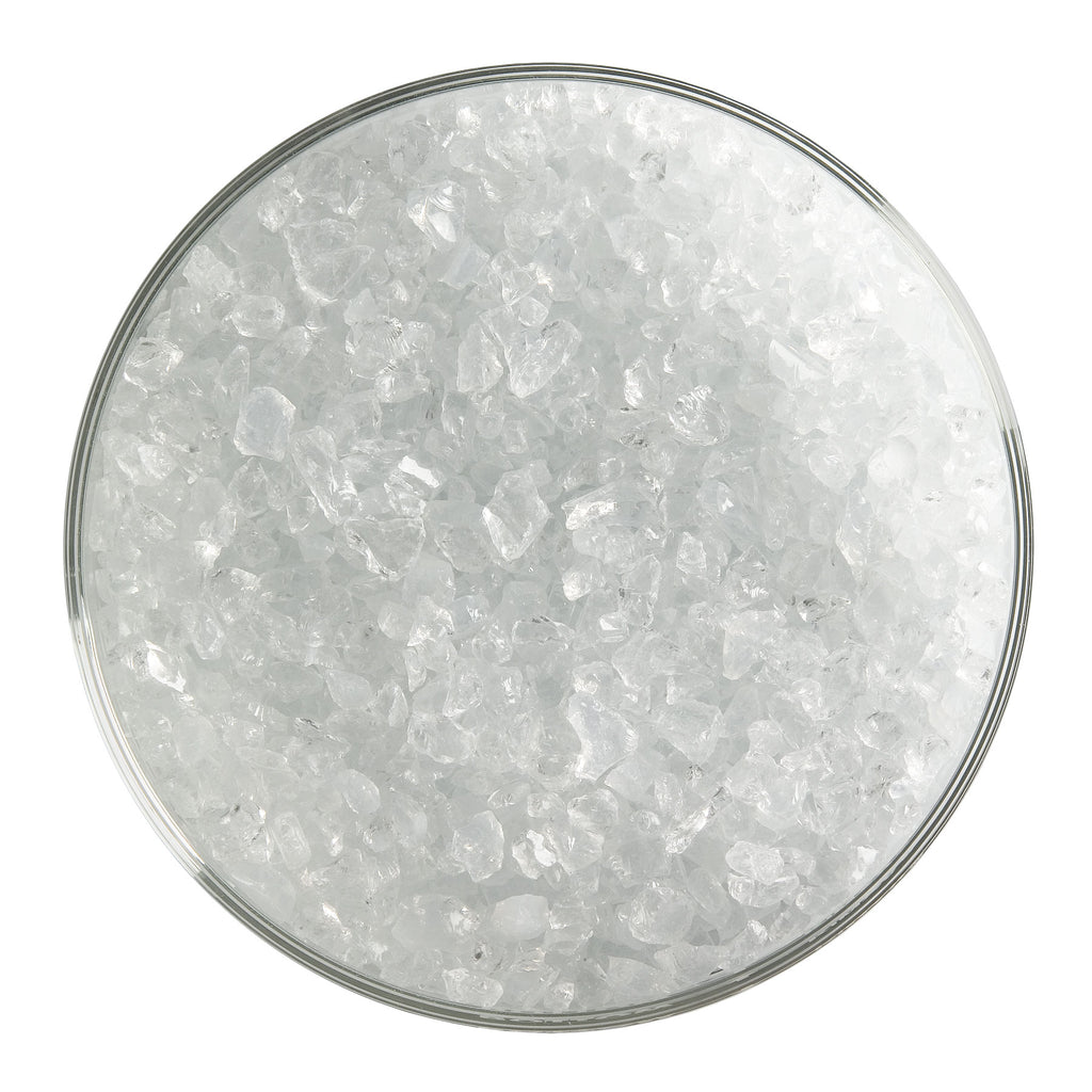 BE - 0243 Translucent White Opal Frit