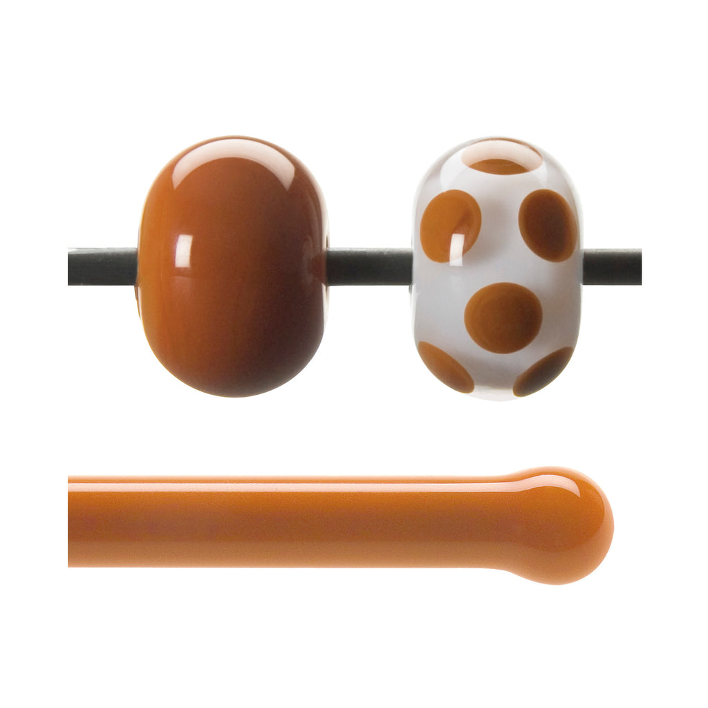 BE - 0329 Burnt Orange Opal Rod