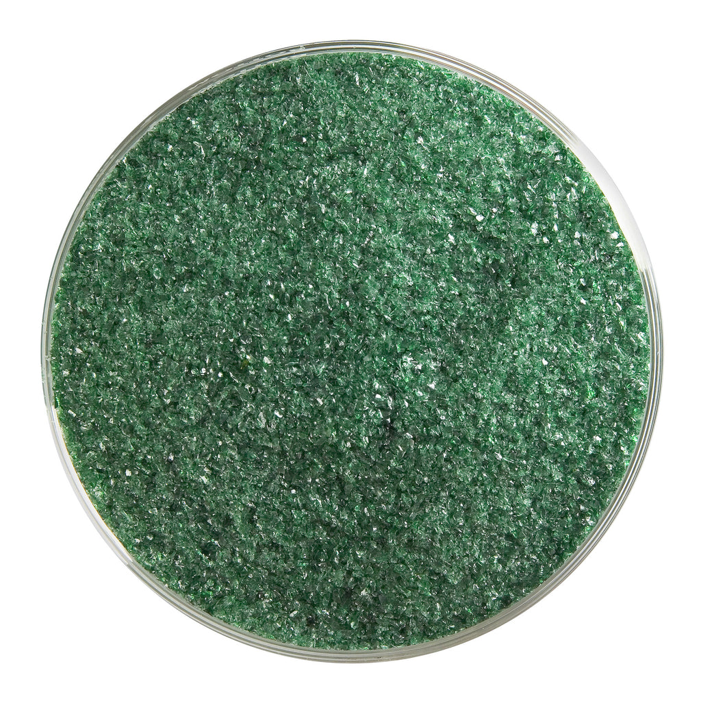 BE - 1112 Aventurine Green Transparent Frit