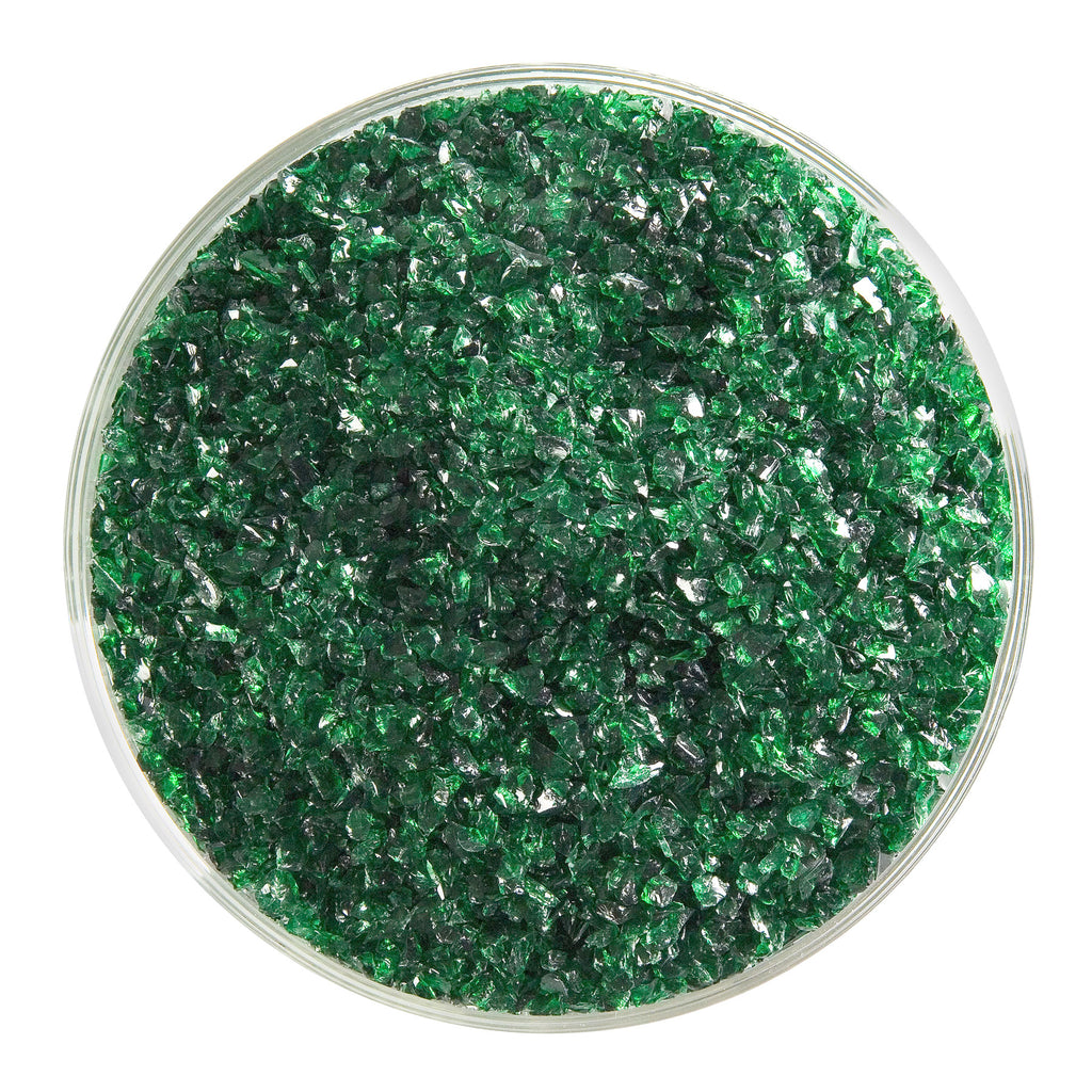 BE - 1145 Kelly Green Transparent Frit