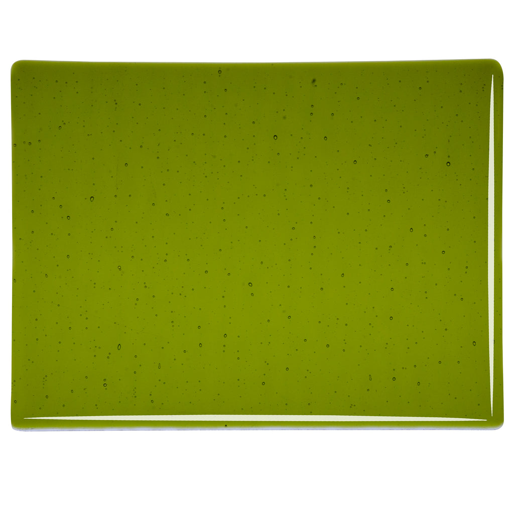 BE - 1226 Lily Pad Green Transparent Sheet