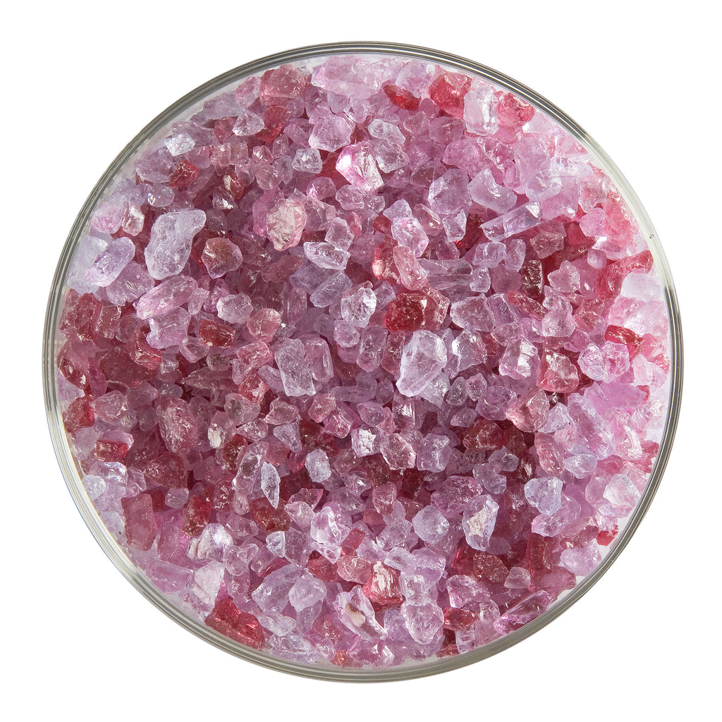 BE - 1311 Cranberry Pink Transparent Frit