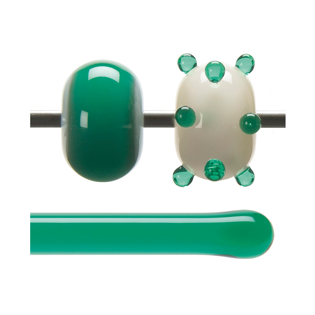 BE - 1417 Emerald Green Transparent Rod