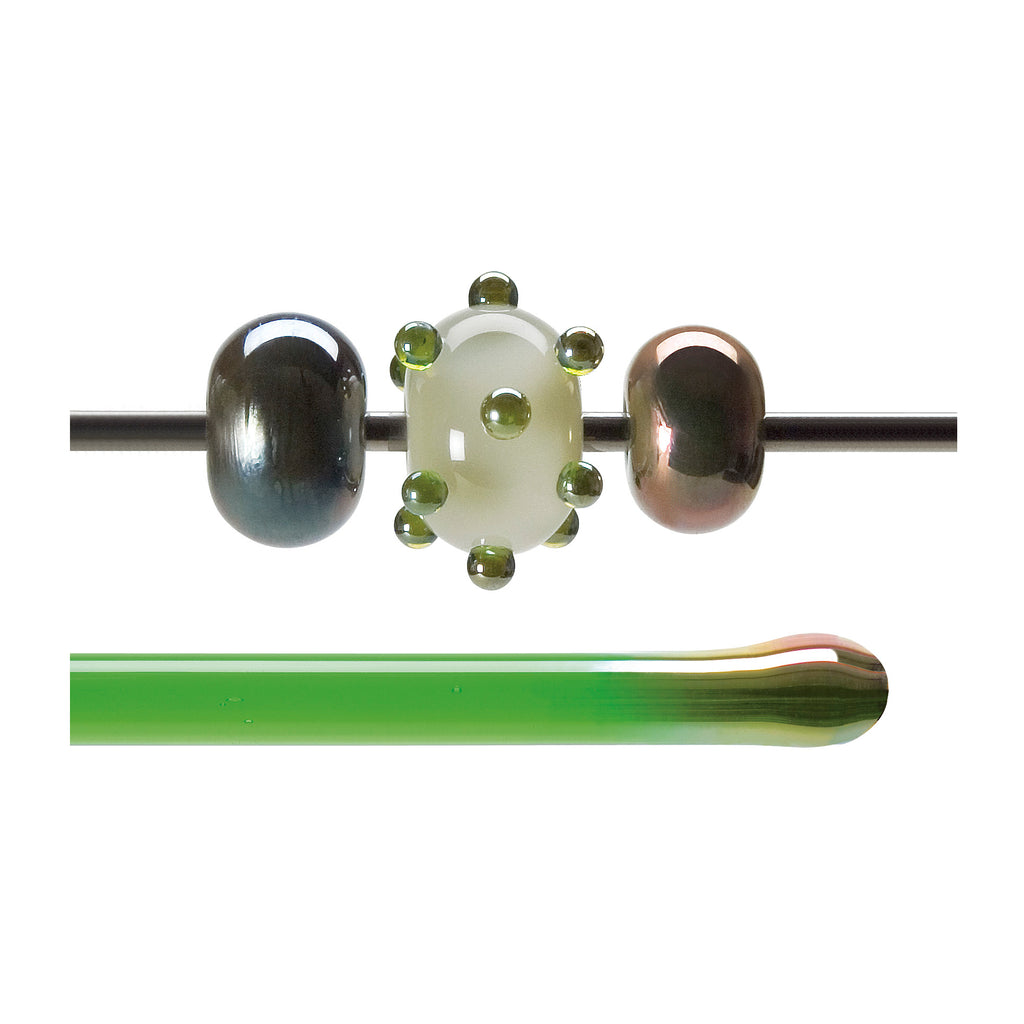 BE - 1707 Green Lustre Transparent Rod