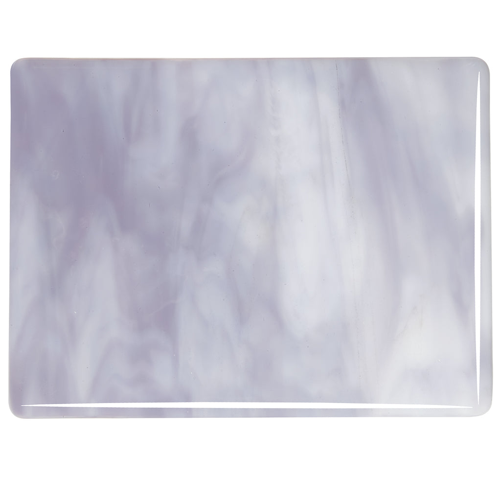 BE - 2304 White/Lavender Blue Opal Streaky Sheet
