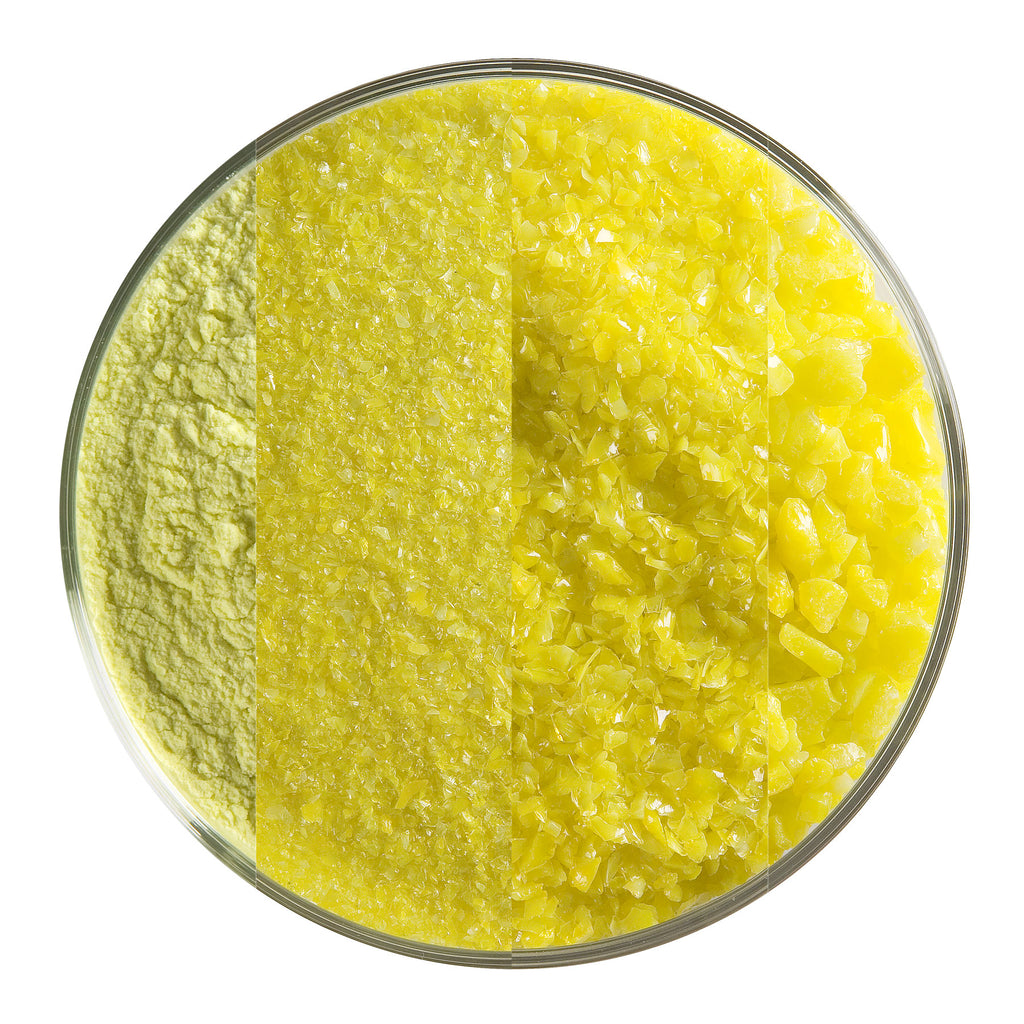 BE - 0120 Canary Yellow Opal Frit