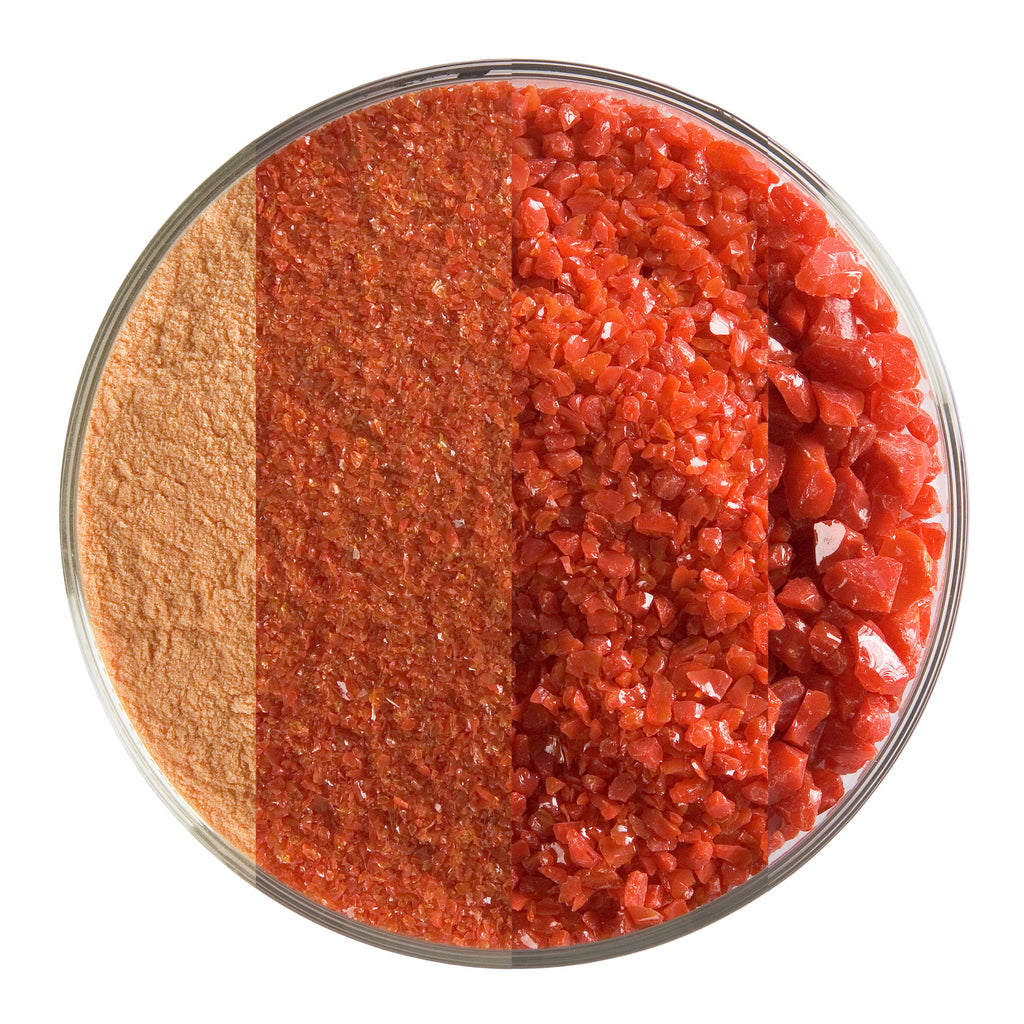 BE - 0124 Red Opal Frit