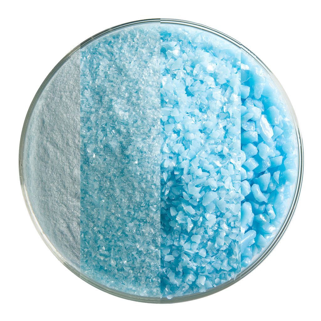 BE - 0216 Light Cyan Opal Frit