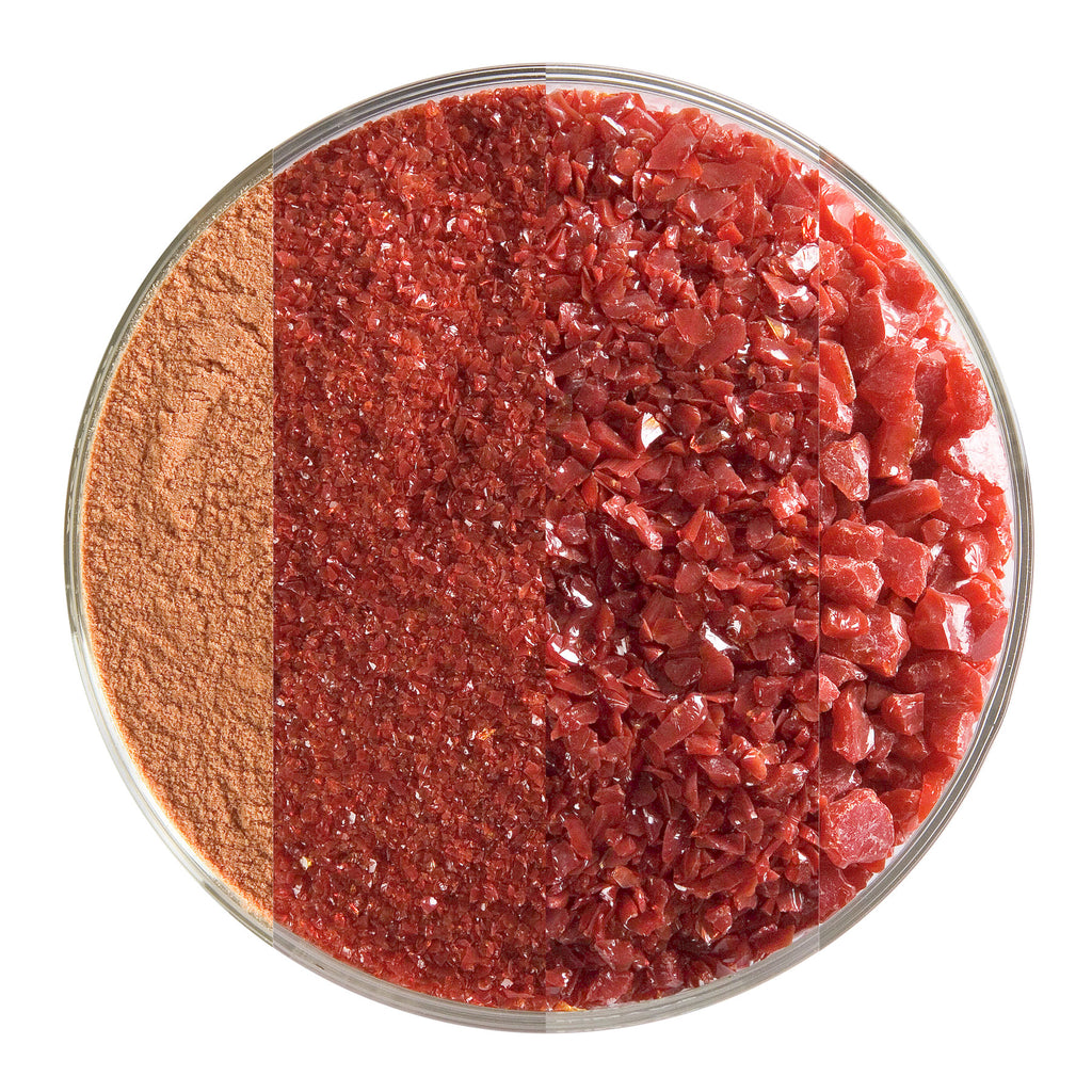 BE - 0224 Deep Red Opal Frit