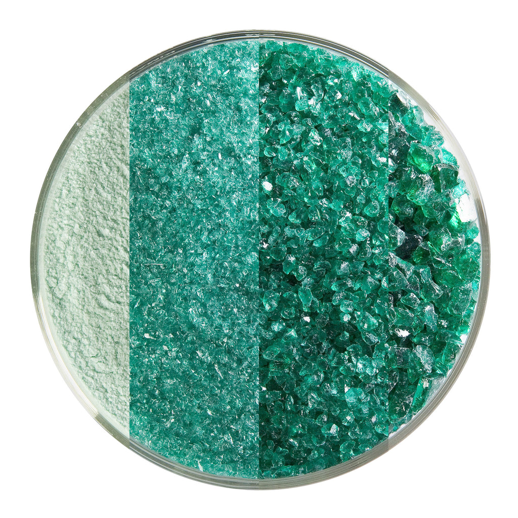 BE - 1417 Emerald Green Transparent Frit