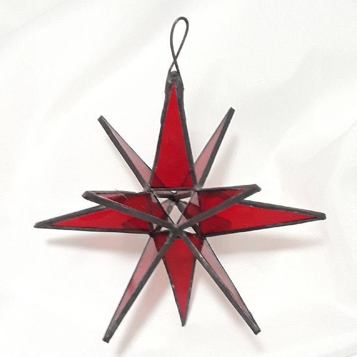 Stained Glass Moravian Star - Intermediate Class