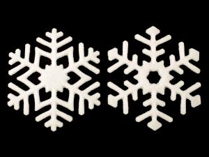 Snowflake Frit Casting Molds