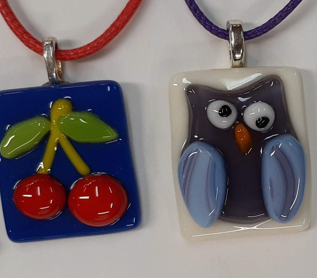 Carla Stevens: Fused Glass Jewelry Project