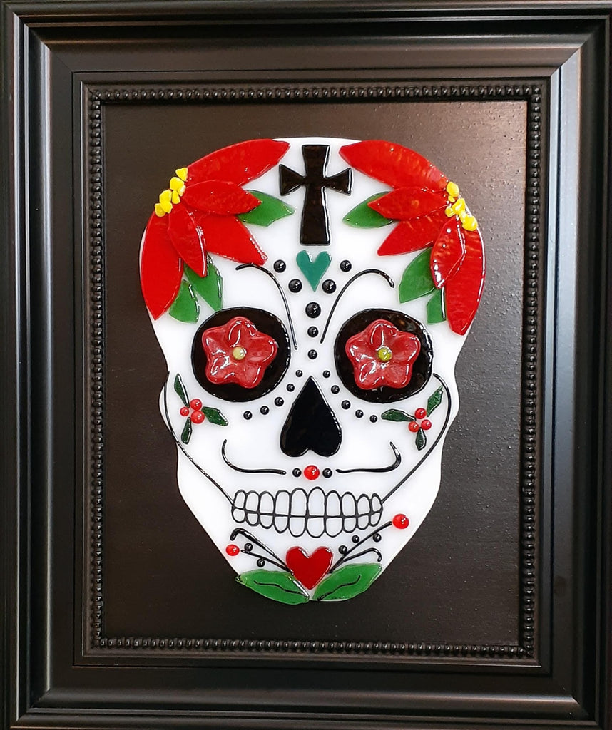 Video: Fused Glass Sugar Skull Project