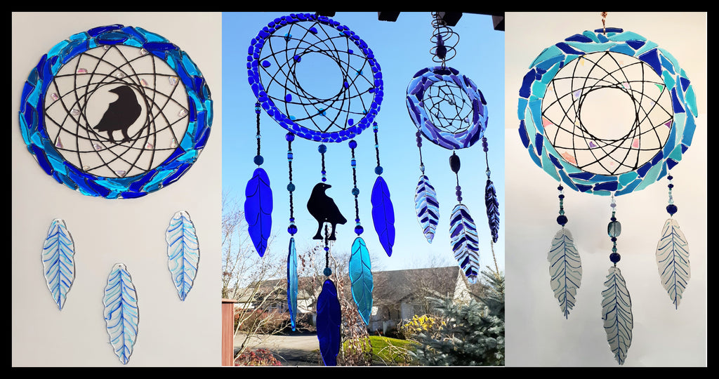 Video: Fused Glass Dream Catcher Project