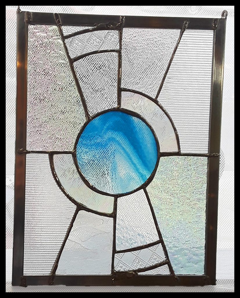 Intermediate Stained Glass: Copper Foil Square Panel